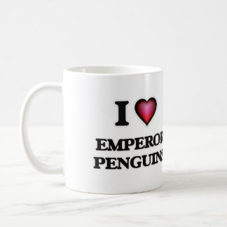 I Love Emperor Penguins Coffee Mug