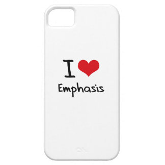 I love Emphasis iPhone 5 Covers