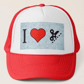 I Love Employing Precision Trucker Hat