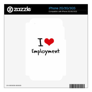 I love Employment Decals For The iPhone 3GS