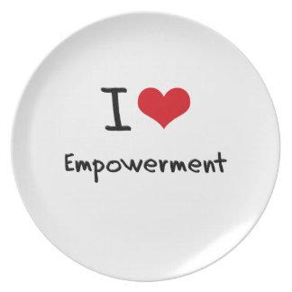 I love Empowerment Plates