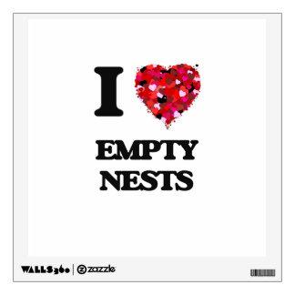 I love Empty Nests Wall Skin