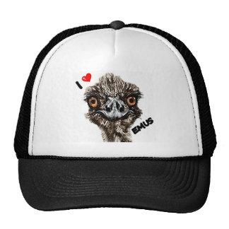 I LOVE EMUS CAP