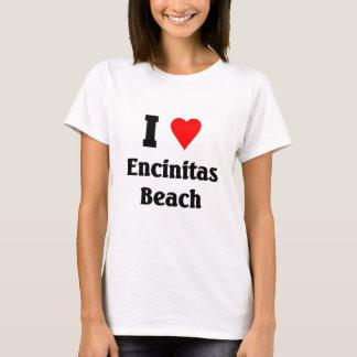 I love Encinitas Beach T-Shirt