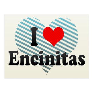 I Love Encinitas, United States Post Card