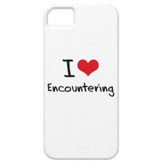 I love Encountering iPhone 5 Case