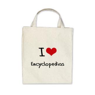 I love Encyclopedias Bag