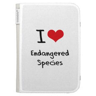 I love Endangered Species Kindle Keyboard Covers
