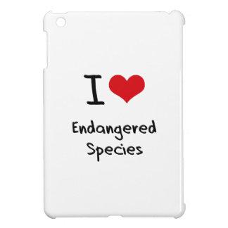 I love Endangered Species iPad Mini Case