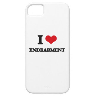 I love ENDEARMENT iPhone 5 Cases