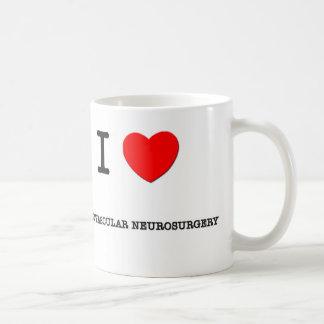 I Love ENDOVASCULAR NEUROSURGERY Coffee Mug