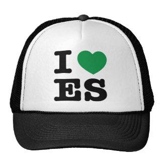 i love energy saving trucker hat
