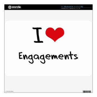 I love Engagements Decals For MacBook