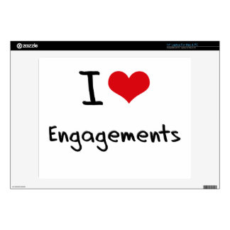 """I love Engagements 14"""" Laptop Decal"""