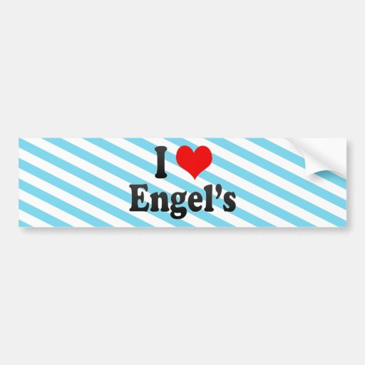 I Love Engel's, Russia Bumper Stickers
