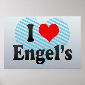I Love Engel's, Russia Print