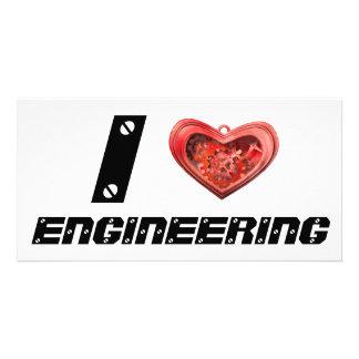 I love engineering card