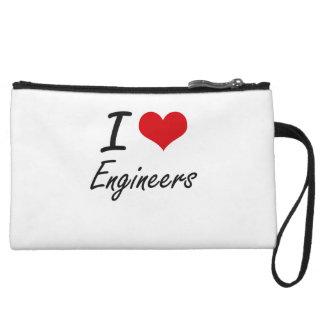 I love Engineers Wristlet Purses