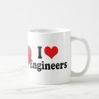 I Love Engineers Coffee Mug