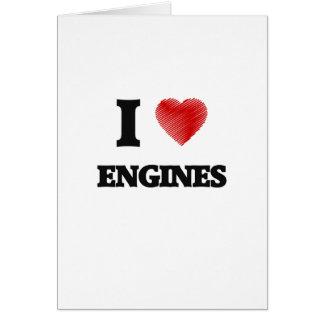 I love ENGINES Card