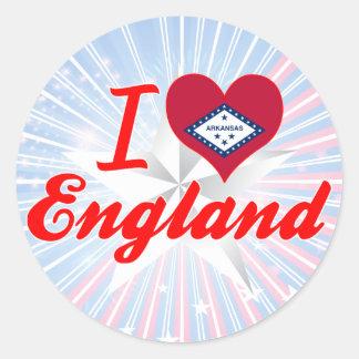 I Love England, Arkansas Stickers