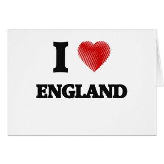 I love ENGLAND Card