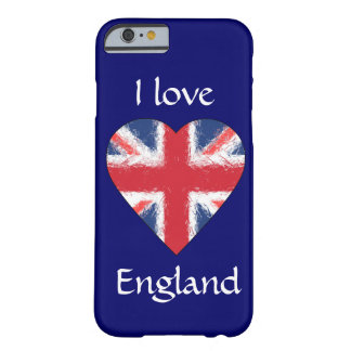 I love England Barely There iPhone 6 Case