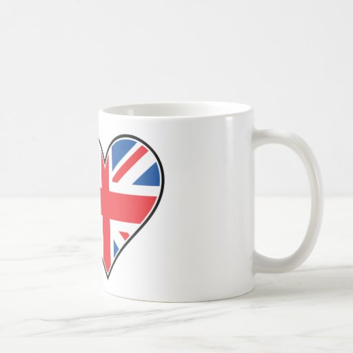 I Love England Classic White Coffee Mug