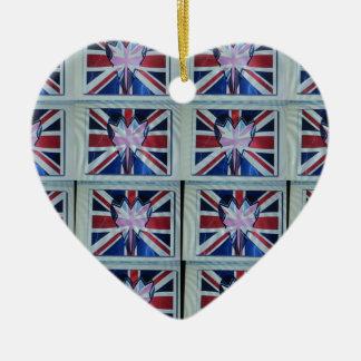 I love England.png Ceramic Ornament