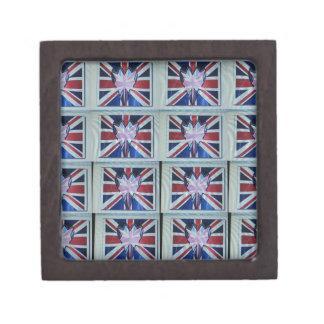 I love England.png Keepsake Box