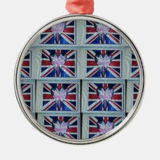 I love England.png Metal Ornament