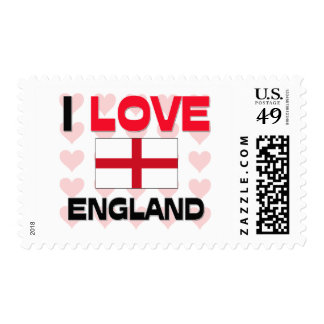 I Love England Postage