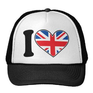 I Love England Trucker Hat