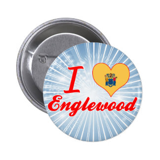 I Love Englewood New Jersey Pins