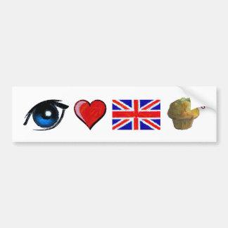 I love English Bumper Sticker