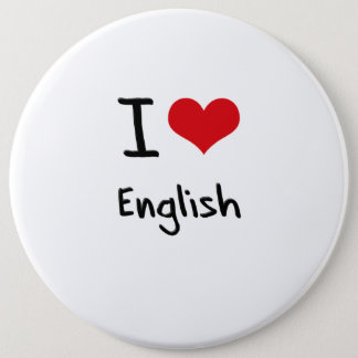 I love English Button