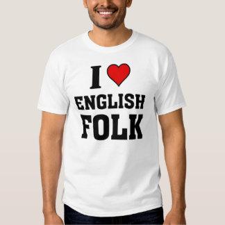 I love English Folk T-Shirt
