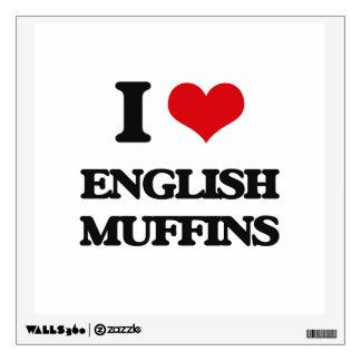 I love English Muffins Room Graphic