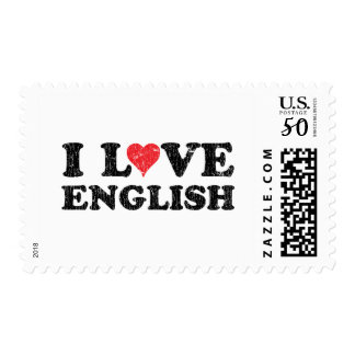 I Love English Postage