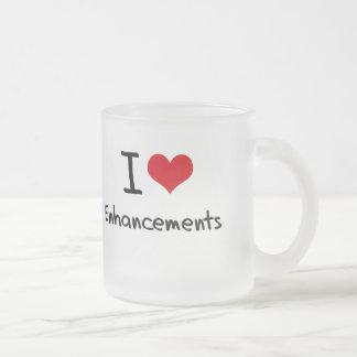 I love Enhancements Coffee Mug
