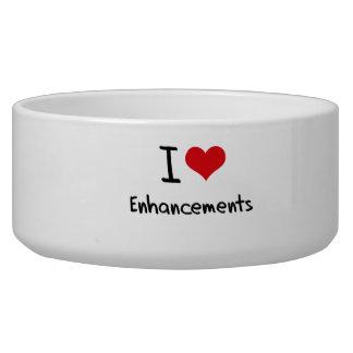 I love Enhancements Pet Food Bowl