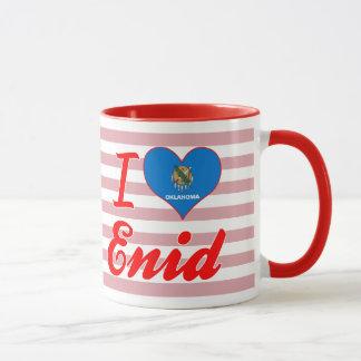 I Love Enid, Oklahoma Mug