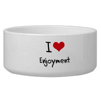 I love Enjoyment Dog Food Bowl