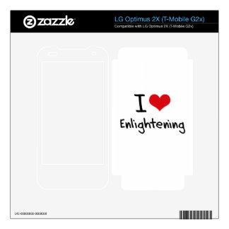 I love Enlightening Skins For LG Optimus 2X