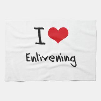 I love Enlivening Hand Towel