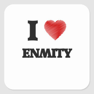 I love ENMITY Square Sticker