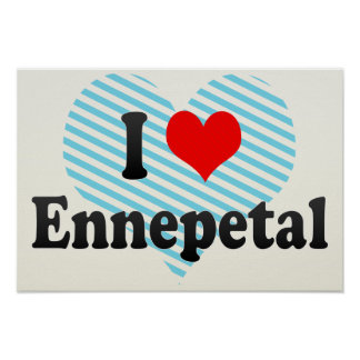 I Love Ennepetal, Germany Poster
