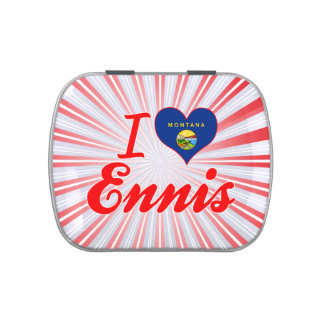 I Love Ennis, Montana Jelly Belly Tins