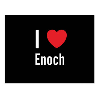 I love Enoch Postcard