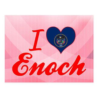 I Love Enoch Utah Post Cards
